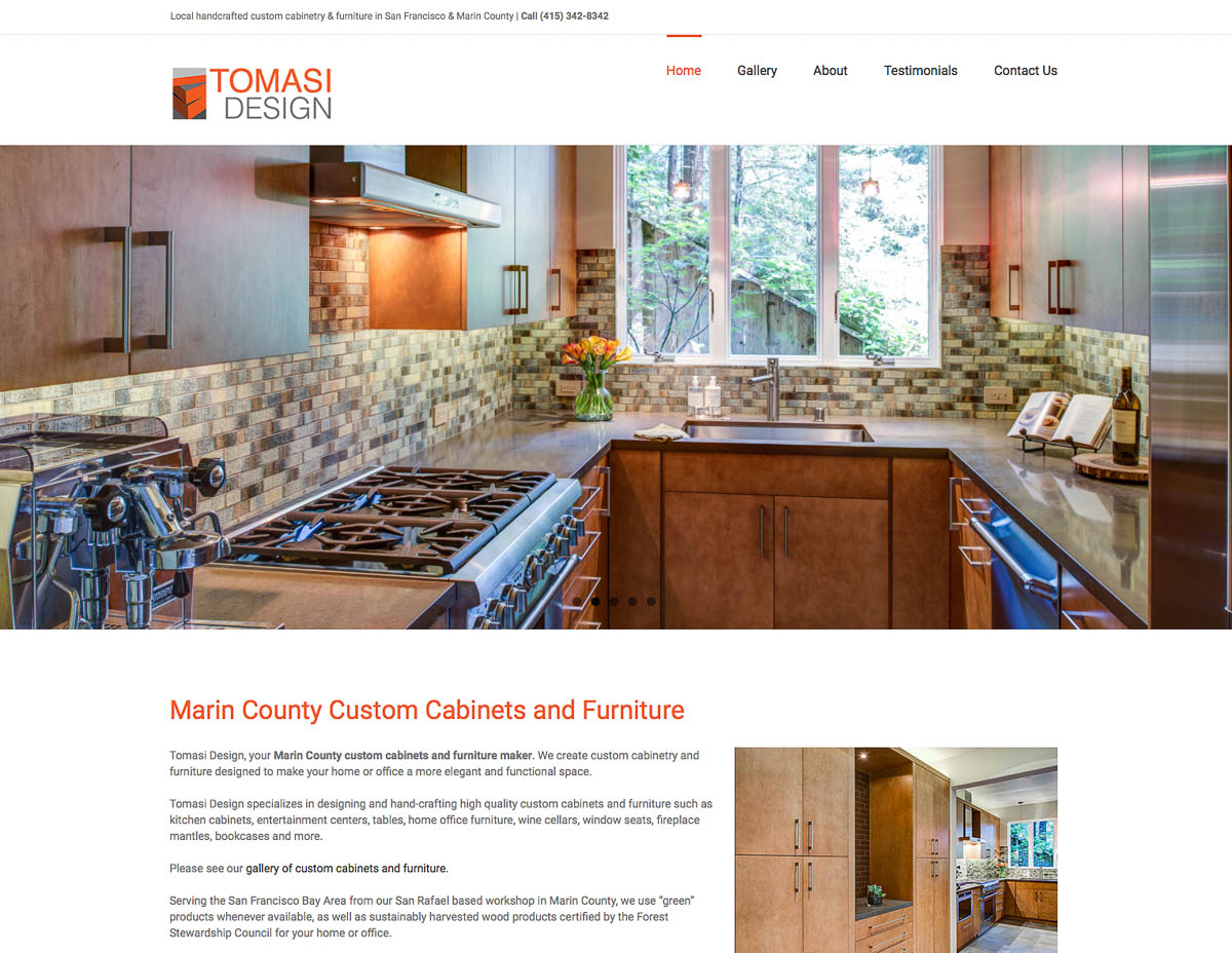 Marin Website Design
