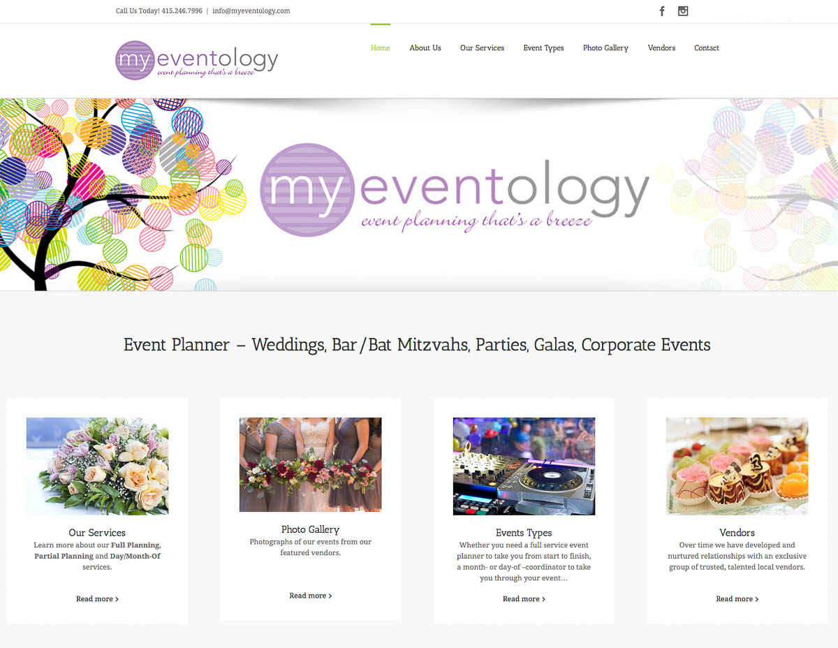 Website for Event Planner