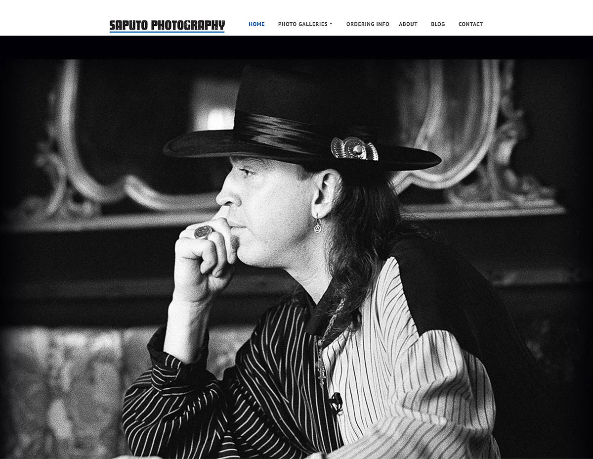 Website for Rich Saputo Photography