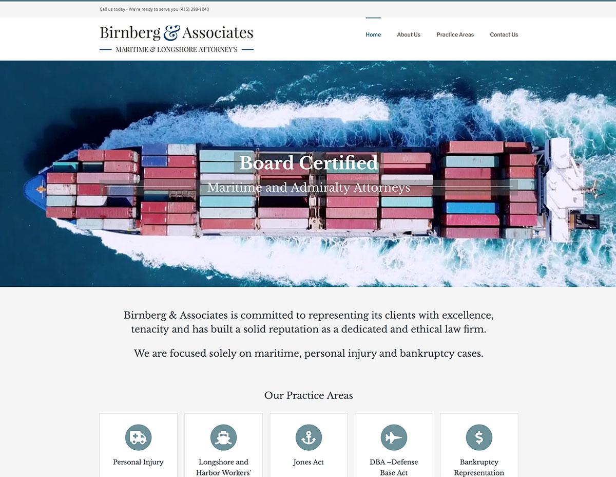 Operation Diana - Marin Website Design